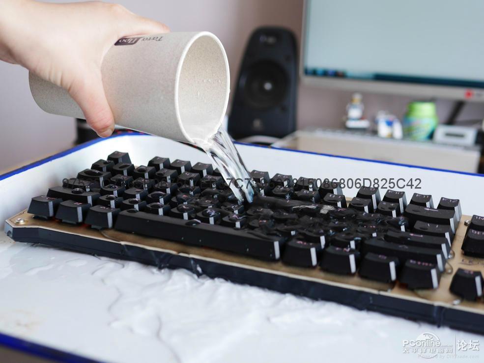 鍵盤納米防水塗層技術 3
