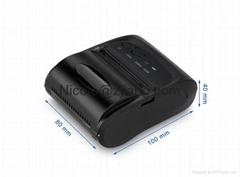 Low price china mobile phone printer zj 5802 bluetooth pos 58 bill printer