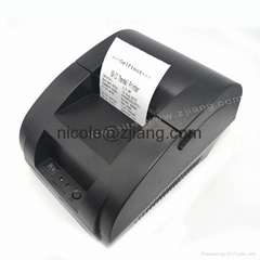 Mini supermarket 58mm thermal USB receipt printer with free driver CD for small