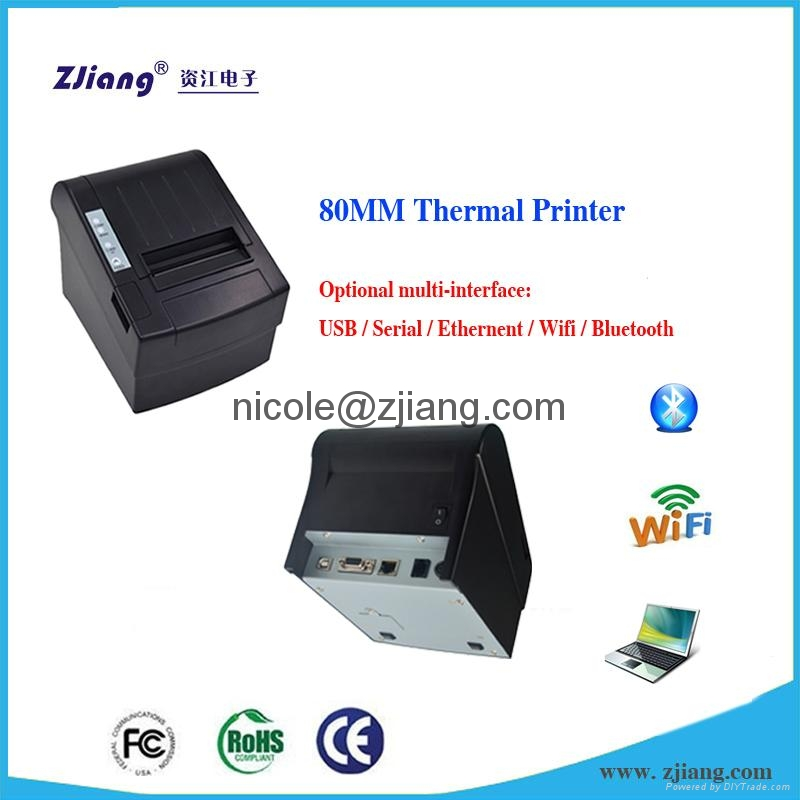 QR code Supported Restaurant Use 80mm Bluetooth Thermal