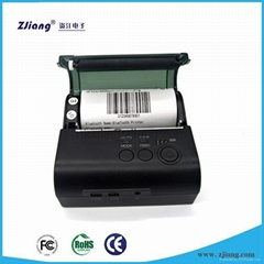Portable 80mm pos bluetooth thermal mobile printer with 2000mA battery