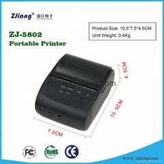 ZJ-5802LD best bluetooth printer receipt