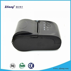 Support iOS Smartphone Hand held Mini 58mm Bluetooth Thermal Receipt Printer ZJ