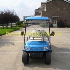 常州環保節能電動高爾夫球車報價,看房接待車