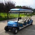 常州環保節能電動高爾夫球車報價,看房接待車 2
