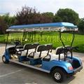 常州环保节能电动高尔夫球车报价,看房接待车 3