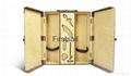 velvet lining wine box with wine tool