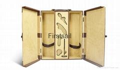 ve  et lining wine box with wine tool set