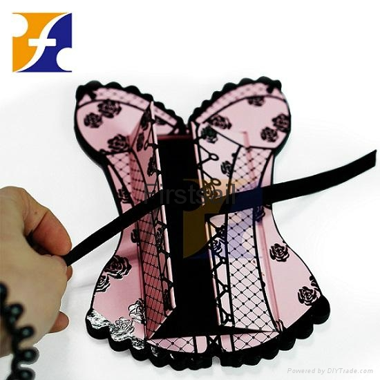 Corset Shape Cosmetic Gift Box with Ribbon 1