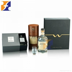 cheap paper shipping wine bottle packaging or wine packaging boxes