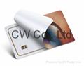Customized Design 13.56Mhz PVC contactless NFC card 1