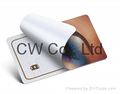 Customized Design 13.56Mhz PVC contactless NFC card