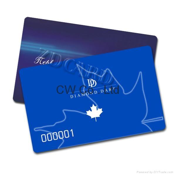 Customized Design 13.56Mhz PVC contactless NFC card 2