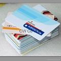 Customized Design 13.56Mhz PVC contactless NFC card 4