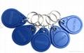 125khz PVC Plastic EM rfid smart keyfob