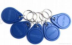 125khz PVC Plastic EM rfid smart keyfob tag