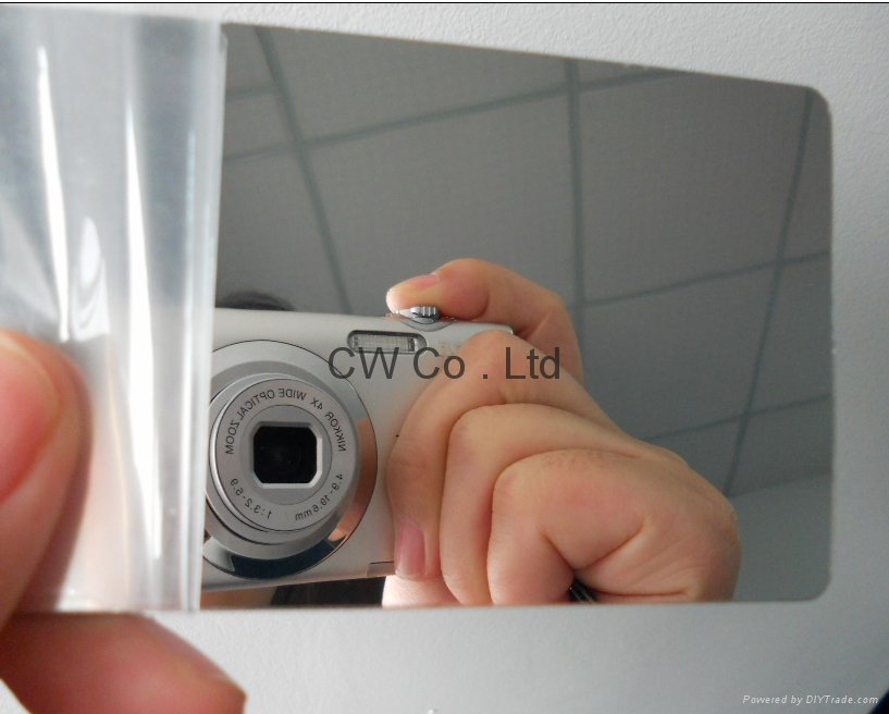 Custom Design Printing Plastic Mirror Finish Business Card - CW-009 ...