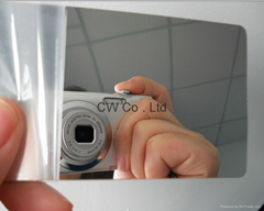 Custom Design Printing Plastic Mirror Finish Business Card