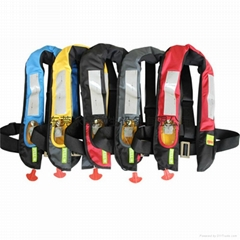 CE認証工作充氣式救生衣