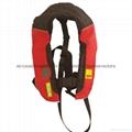 CE認証儿童自動充氣救生衣