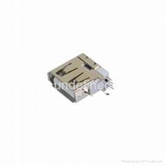USB連接器2.0 母座14.0側插系列