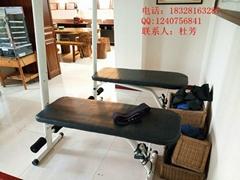 道門楊仁堂鋼制多功能多角度膀胱經松觔凳