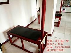成都道門楊仁堂木製拉觔凳供應廠家直銷安全自主拉觔凳