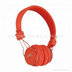 NIA headphone  NIA-1682S TF card play FM radio Headphones 3 in 1 Headphones