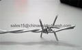 PVC/Ga  anized Barbed Wire From Stock