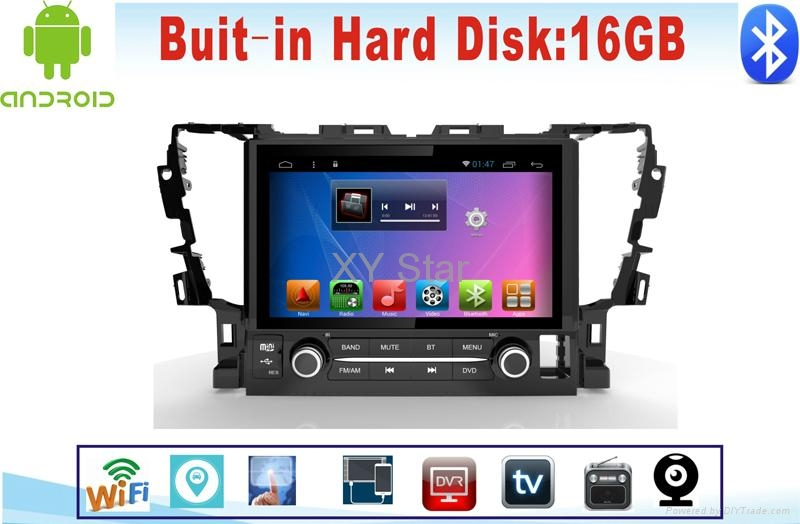 Android system  Car Navigation for Toyota Alphard  9inch with Car dvd 2
