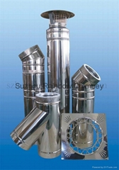 stainless steel flue gas pipe