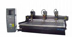 中工機械 三頭石材雕刻機