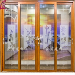 China aluminun sliding window