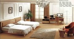 快捷酒店傢具——床