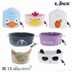 Shenzhen LINX Tech Factory Cartoon headband Sleeping Headphone