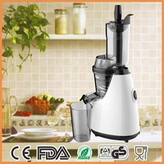 Vertical Electric Masticating Slow Press Juicer- Wide Mouth Whole Fruit and Vege