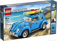 Lego 10252 Creator Volkswagen Beetle Set