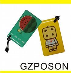 非接觸式水晶滴膠異型IC/ID卡兼容捷順富士等大品牌