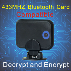 long distance 433mhz RFID active bluetooth card for Smart Parking System