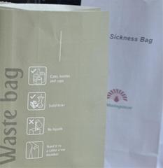 一次性呕吐清洁纸袋