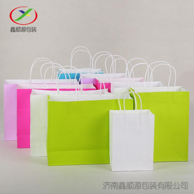 服装礼品袋方底手提纸袋 3
