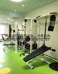 遂寧健身房PVC地板