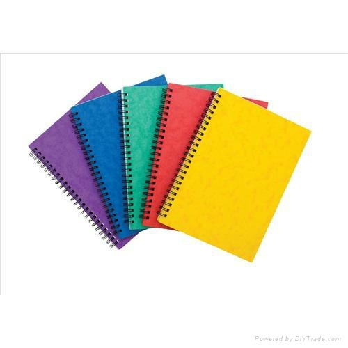 Notebook Sidebound Ruled 90gsm 120 Pages A5 Assorted 1