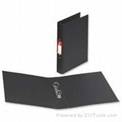 Office Ring Binder Polypropylene 2 O-Ring Size 25mm A4 Black