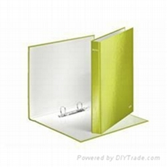 Ring Binder 2 D-Ring 25mm Size A4 Green