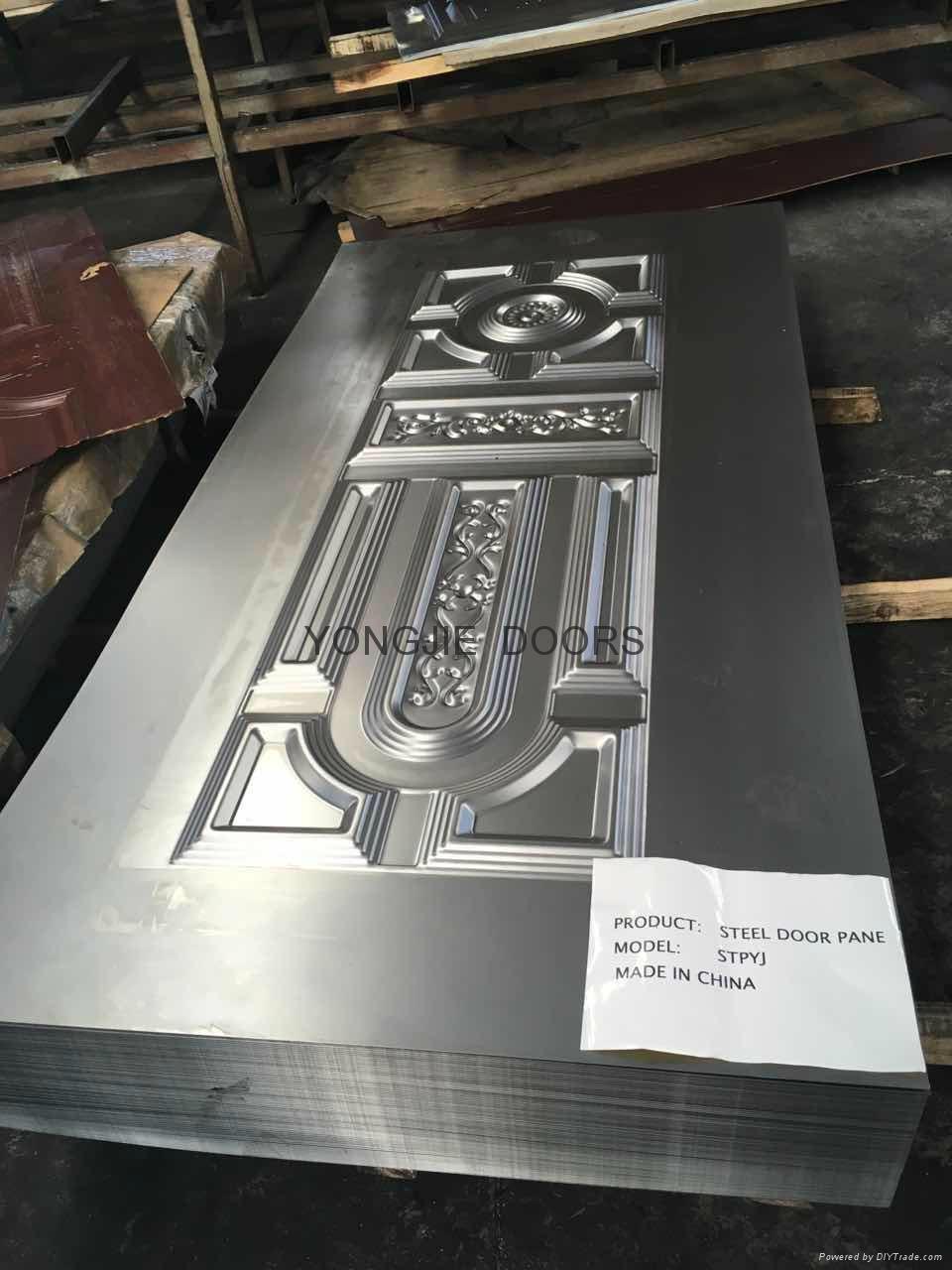 Yujie Embossed Steel Door Skin factory made - China - Manufacturer on