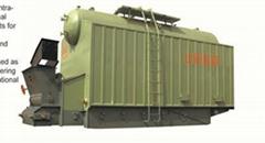 DZL series horizontal water-tube hot water boiler
