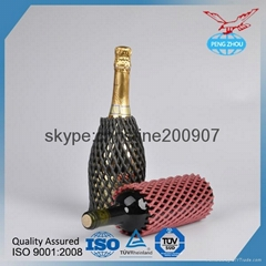 OEM China Made PE Foam Net For Wine Bottle