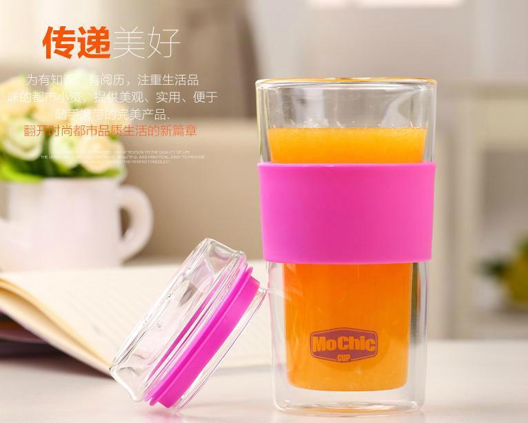 双层玻璃杯定制创意高档实用 4