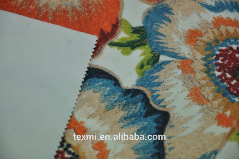 imitation woollen woven fabric for winter dress 1